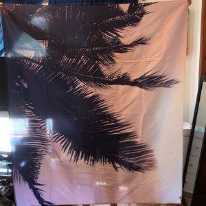 Society 6 Palm Tree Tapestry